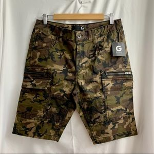 G by Guess • Camo Jean Shorts